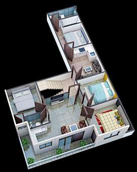 3bhk Builder floor Apartment