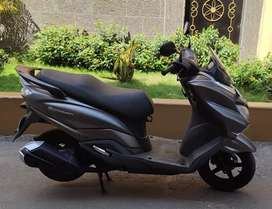 Sale 15 month old Bs-4 Suzuki Burgman street scooty 66k.