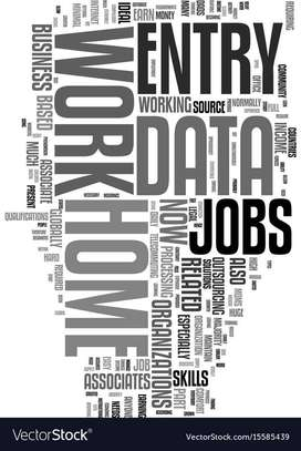 Fixed payout jobs - Data entry / Simple Typing jobs- from home work .