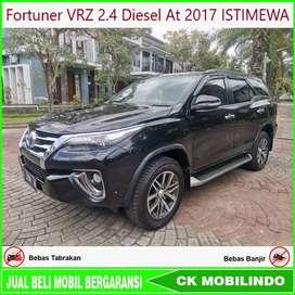 Fortuner VRZ 2.4 Diesel At 2017 Istimewa Bisa kredit