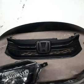 Bumper bemper grill Headlamp sparepart Upgrade All New Brio 2018