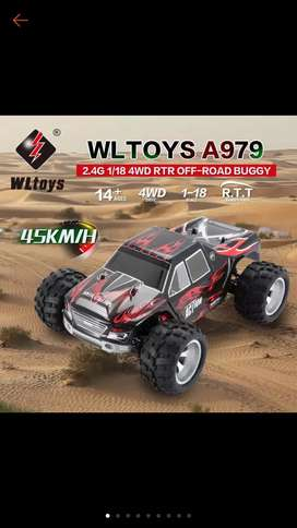 RC Truck High speed WLtoys A979 979A 979 full proporsional kelas hobi