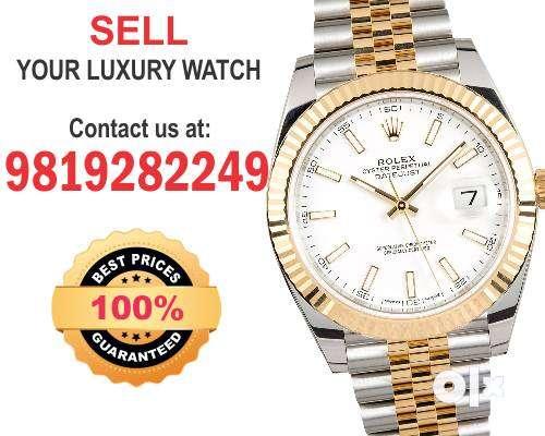 Rolex Date Just Wanted, Audemars, Vacheron, Omega Watch buyers