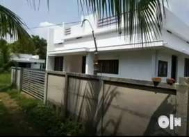 Ready to occupy 2 bhk 750 sqft house at paravur Aluva road thattampady