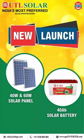 Solar battery and inviter