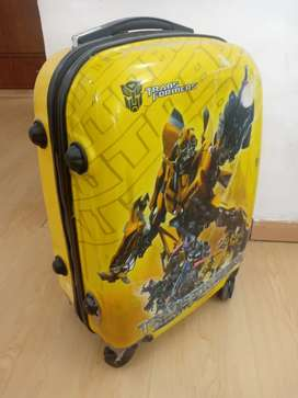 Transformers trolley suitcase