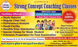 Strong concept coaching classes