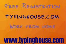 Hiring people for Data entry work/work from home near India
