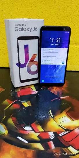Samsung j6 3/32 mulus super murah