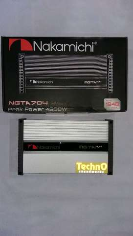 NGTA 705 paket Nakamichi power 4 ch sound amplifier