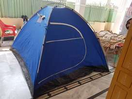 Traveling portible Tent blue