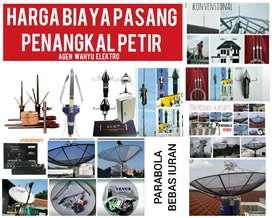 agen ahli pasang penangkal petir dan service parabola Sukamakmur