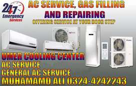 Ac Service, Gas Filling, Ac Installation all over in Lahore