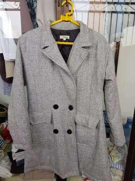 Coat  mantel bahan wool
