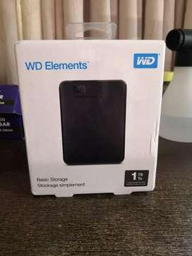 WD Elements 1TB HDD