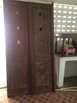 2 sets of puja room door