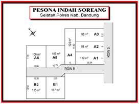 Sertifikat SHM, Dekat  Kantor Pemkab. Bandung, Cicil Tanpa Bunga