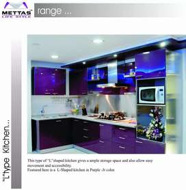 Mettas Lifestyle's Modular kitchens and More.