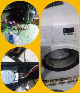 Servis Service kulkas freezerbox AC mesin cuci Surabaya waru gedangan