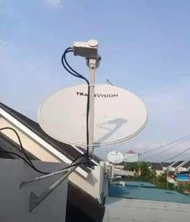 Pasang murah Transvision HD resmi Lombok promo 6 bulan cuma rp420k