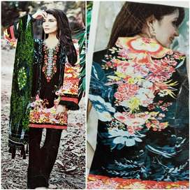 lawn embroidery suit