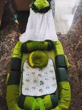 tempat tidur bayi dialogue kelambu