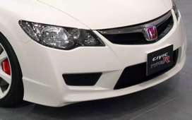 New ABS Plastic Honda Civic FD2 Reborn Type R Front Bumper Bodykit