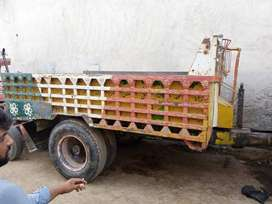 Tractor Trolly with Chowper jall