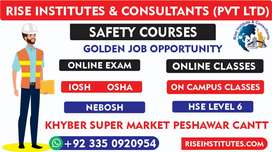 Safety Officer Courses On campus/online international training &
