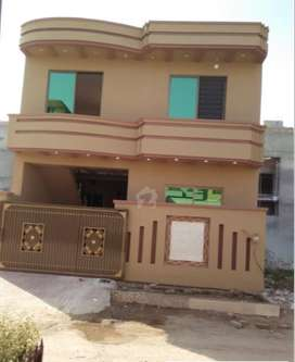 Double Story 5 Marla House for sale in Ghouri town Marwa town