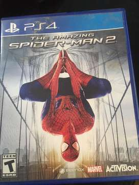 Amazing spider man 2 ps4