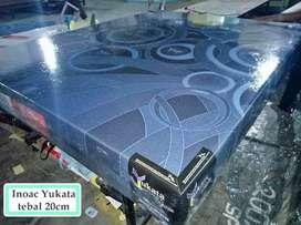 Kasur busa inoac yukata 160x200x20 kain lembut tida panas