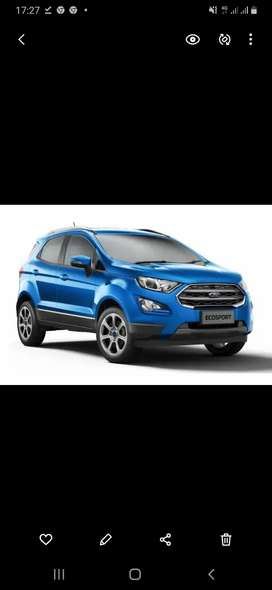 Looking for used Ford ecosport  less than 55000 km.