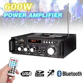 Amplifier Bluetooth Home Theater 600 watt