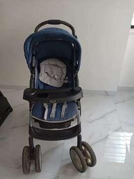 Imported Graco Baby stroller/Pram/Car Seat