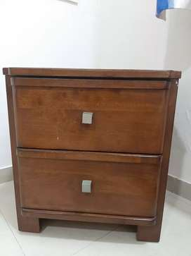 Two drawer Side Table for sale