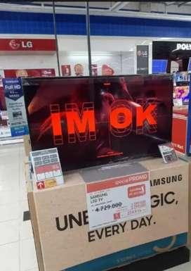 Kredit TV SAMSUNG N43N5003 Cukup DP 530,000 BUNGA 0% Proses 3Menit