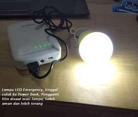 Lampu Emergency LED Mungil