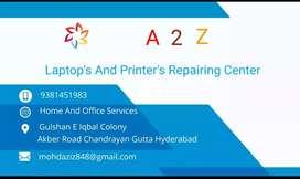 A2Z Laptop And Printer Repairing