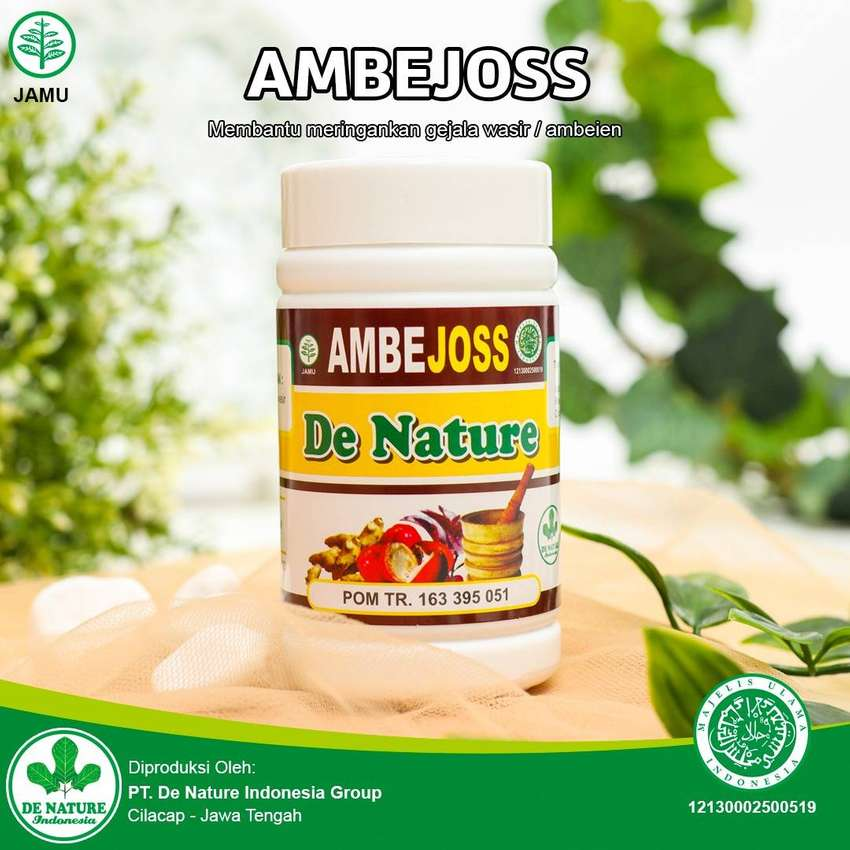 OBAT AMBEYEN WASIR AMBEJOSS DE NATURE