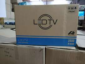 NEW  24 inch LED TV FULL HD 4k sale pack