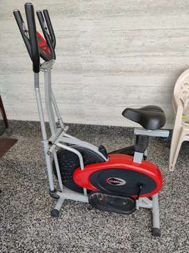 GYM CYCLE + CROSS TRAINER
