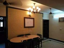 Mig duplex 3 bedroom DD corner facing park well built sector 41 a