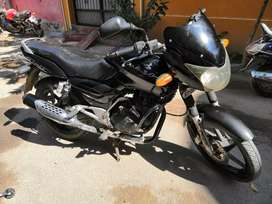 Pulsar 180 with RC and Emission test, battery and tyre all are new.