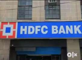 Urgent requirement for hdfc bank onroll joining male  female candidate