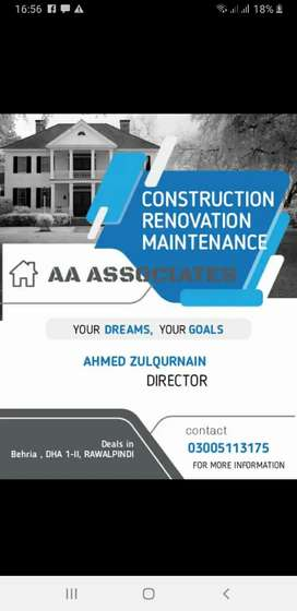 Construction by PEC registered company