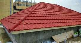 Atap bajaringan terpasang