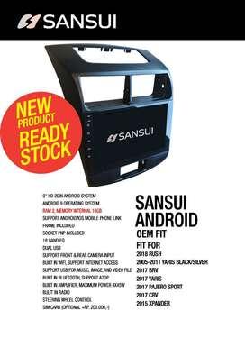 Android All New Avanza 9inch Sansui SA5200iYoii *WaktunyaKeKikim*
