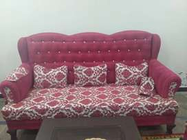 7 seater sofa with Dewan . It is in good condition