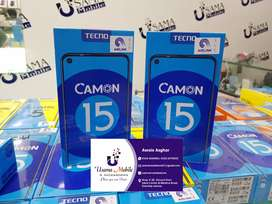 Techno Camon15 box pack and all Techno box pack models avail USAMA MBL